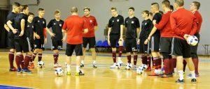 Pārbaudes spēle telpu futbolā: Latvija – Spānija, U-19 v.gr.